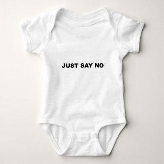 SAGEN SIE EINFACH NEIN BABY STRAMPLER