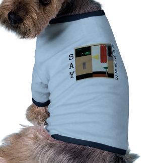 Sagen Sie Käse Hund T-shirt