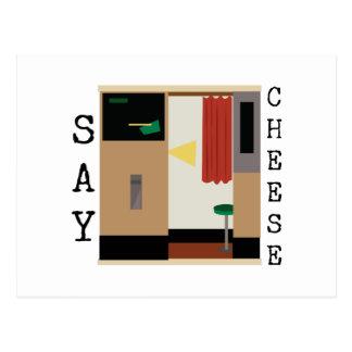 Sagen Sie Käse Postkarten