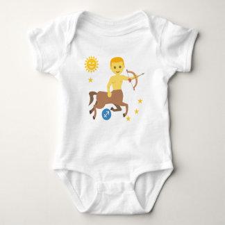 Sagittarius archer baby bodysuit zodiac star sign baby strampler