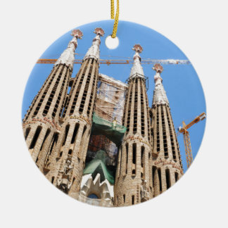 Sagrada Familia in Barcelona, Spanien Keramik Ornament