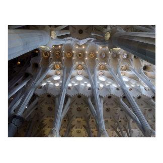 Sagrada Familia. Innenraum. Kalender 2015 Postkarte
