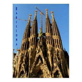Sagrada Familia Postkarte