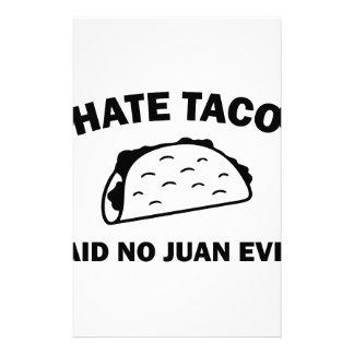 Sagte keinen Juan überhaupt Briefpapier