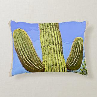 Saguaro-Arm im Cartoon-Akzent-Kissen Dekokissen