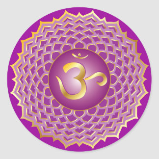 Sahasrara oder Krone chakra Aufkleber