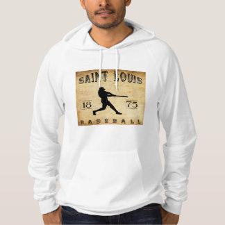 Saint Louis-Missouri-Baseball 1875 Hoodie