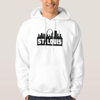 Saint Louis-Missouri-Skyline Hoodie