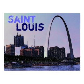 Saint Louis-Postkarte Postkarte