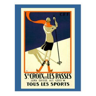 Sainte Croix Les Rasses Postkarte