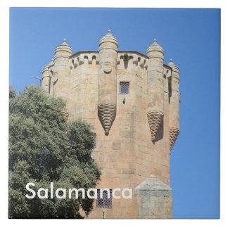 Salamanca, Spanien. Tower Del Clavero Fliese