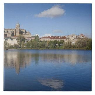 Salamancakathedralen und -stadt fliese