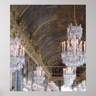 Salle de bal grande, palais de Versailles Poster
