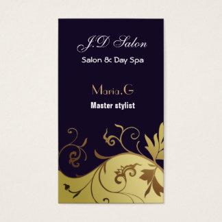 Salon businesscards visitenkarte