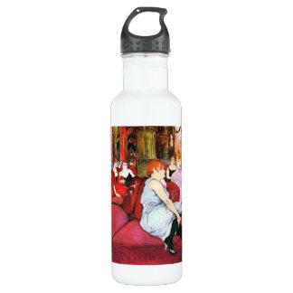 Salon im Ruede Moulins durch Toulouse-Lautrec Trinkflasche