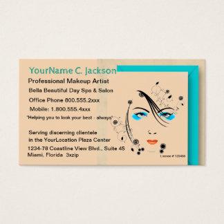 Salon-Wellness-Center-Make-up und Haar Visitenkarte