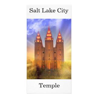 Salt Lake City LDS Tempel Karte