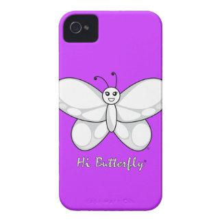 Salut Coque-Compagnon audacieux de Butterfly® Blac Coques Case-Mate iPhone 4