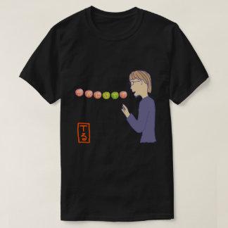 SALUT! type-5 black (暗い背景色向け) T-Shirt
