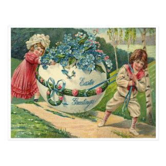 Salutations de Pâques Carte Postale