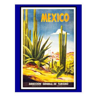 Salutations du Mexique de carte postale vintages