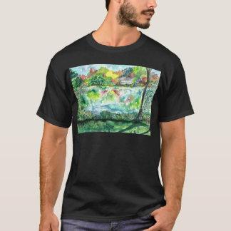 Salz-Teich - Falmouth, MA. erhöht T-Shirt