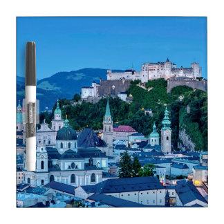 Salzburg-Stadt, Österreich Trockenlöschtafel