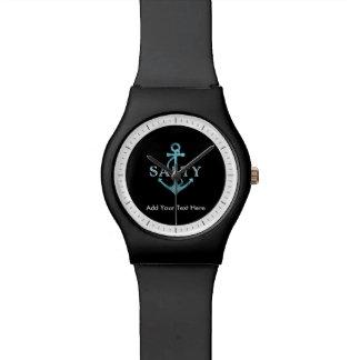 Salziger Seeanker Uhr