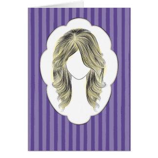Samantha - Porträt einer Frau Karte