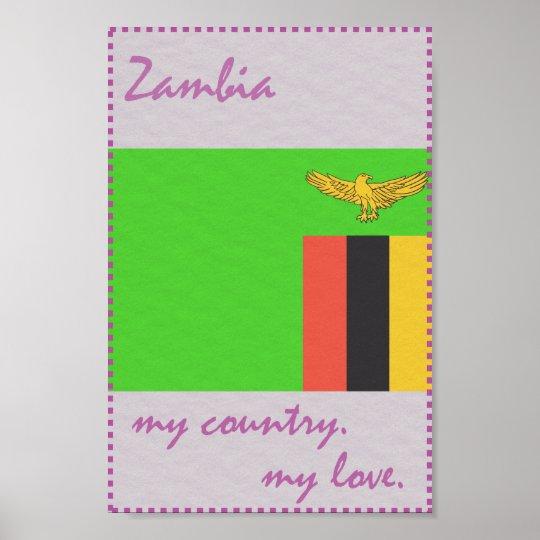 Sambia mein Land meine Liebe Poster