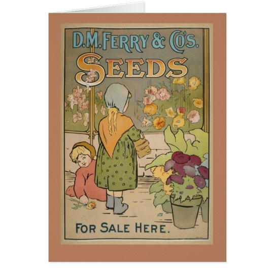 Samen Grußkarte