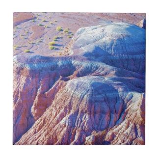 """Sammlung """"der Blau gespitzten Hügel"""" Keramikfliese"""