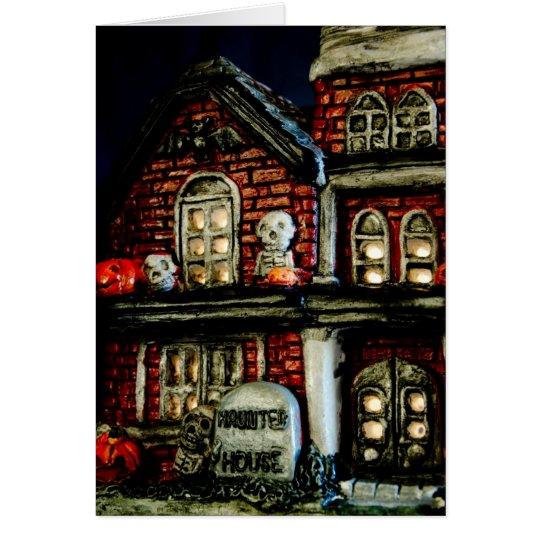 """Sammlung """"des Spuk Hauses"""" Grußkarte"""
