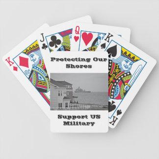 """Sammlung """"schützend unserer Ufer"""" Bicycle Spielkarten"""
