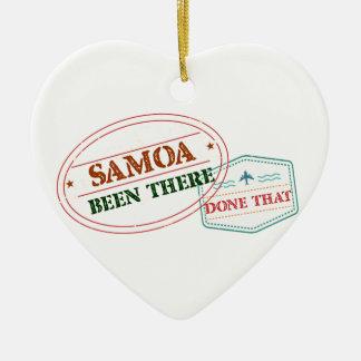 Samoa-Inseln dort getan dem Keramik Ornament