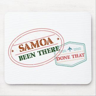 Samoa-Inseln dort getan dem Mousepad