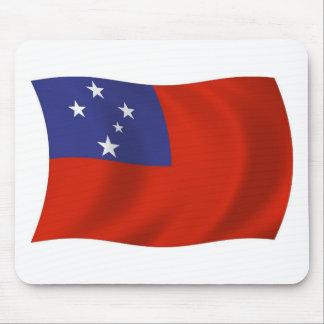 Samoa-Inseln Flagge Mousepad