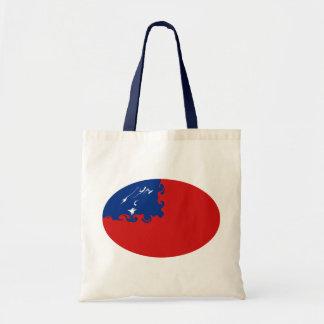Samoa-Inseln Gnarly Flaggen-Tasche