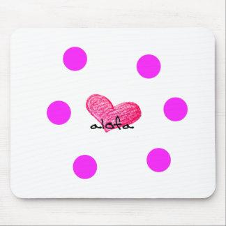 Samoaische Sprache des Liebe-Entwurfs Mousepad