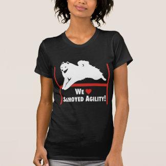 Samoyed-Agility-Liebe T-Shirt