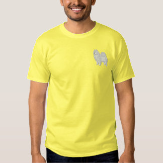 Samoyed Besticktes T-Shirt