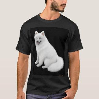 Samoyed-Dunkelheits-T - Shirt