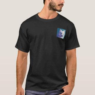 """Samoyed-dunkler T - Shirt - """"Buddha """""""