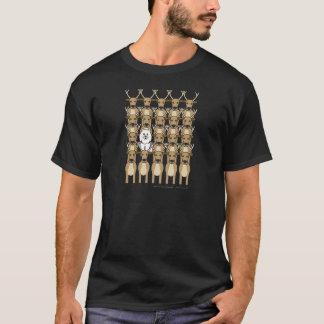 Samoyed im Ren T-Shirt