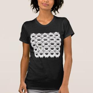 Samoyed in den Schafen T-Shirt