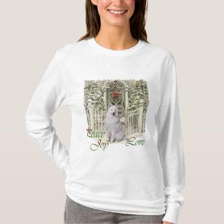 Samoyed-Liebhaber-Weihnachten T-Shirt
