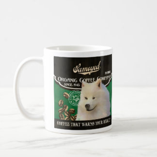 Samoyed-Marke - Organic Coffee Company Tasse