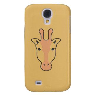 Samsungs-Galaxie S4 der Giraffe gelber Kasten Galaxy S4 Hülle