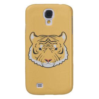 Samsungs-Galaxie S4 des Tigers gelber Kasten Galaxy S4 Hülle