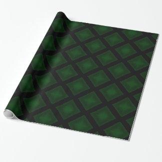 Samt-Diamanten (Grün) Geschenkpapier